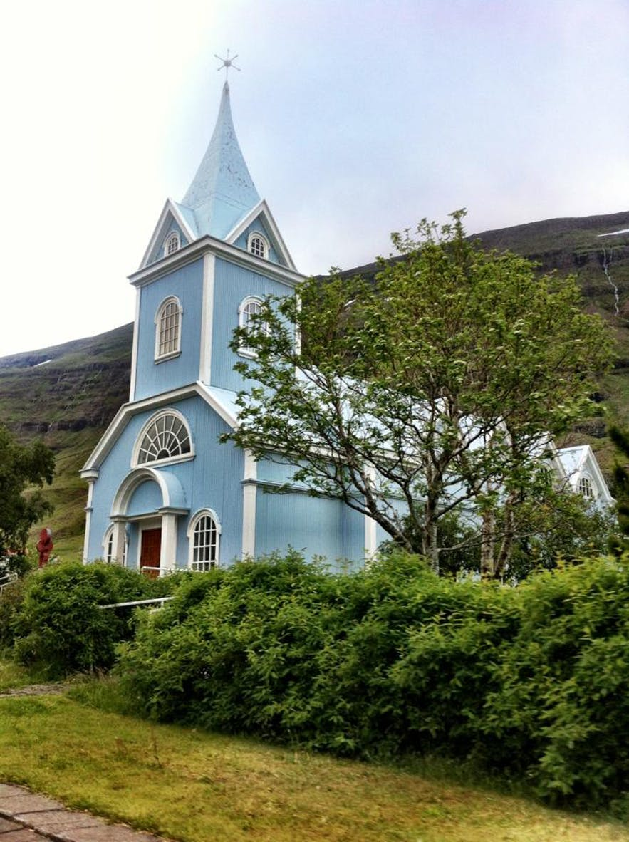 The Famous Blue Church