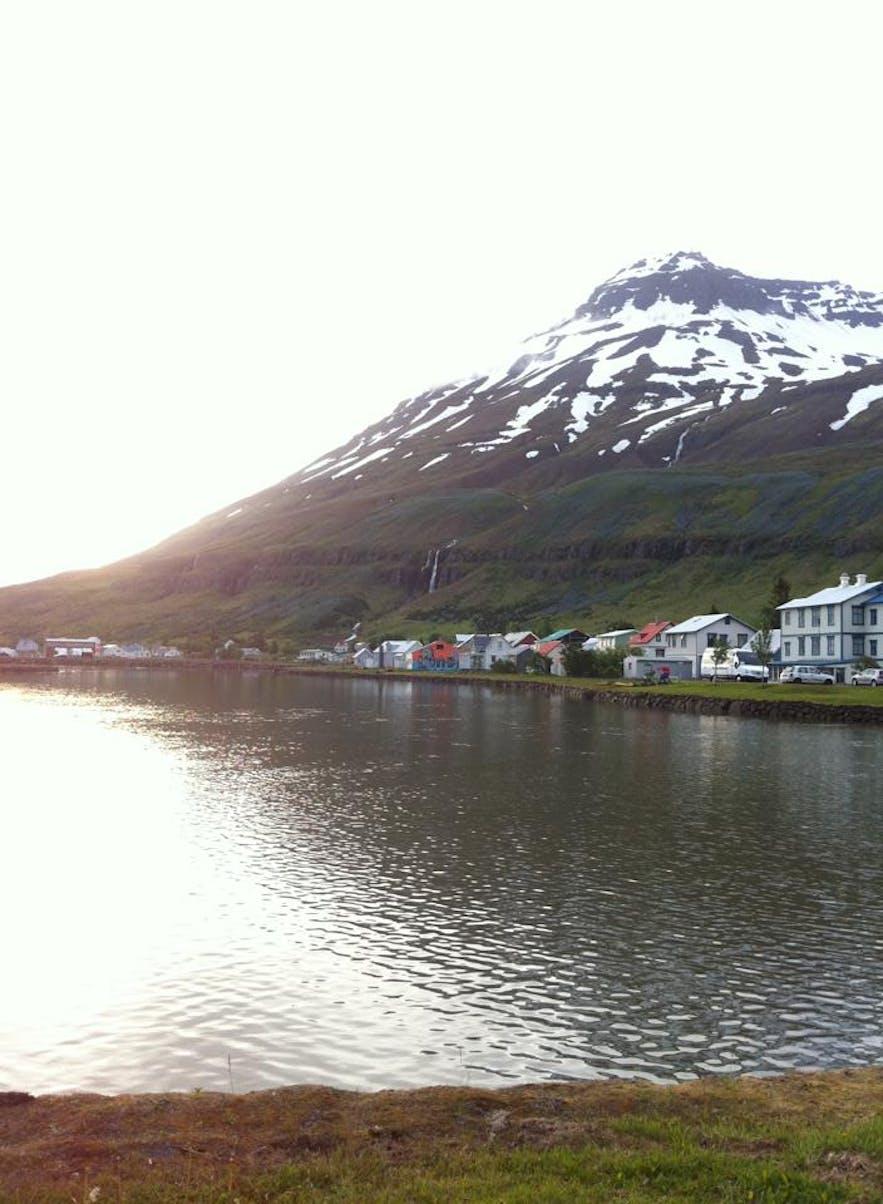 Sunrise in Seyðisfjörður