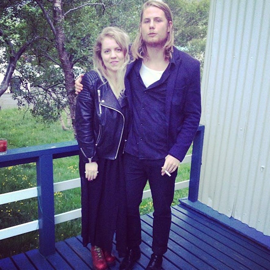 Sesselja and Garðar