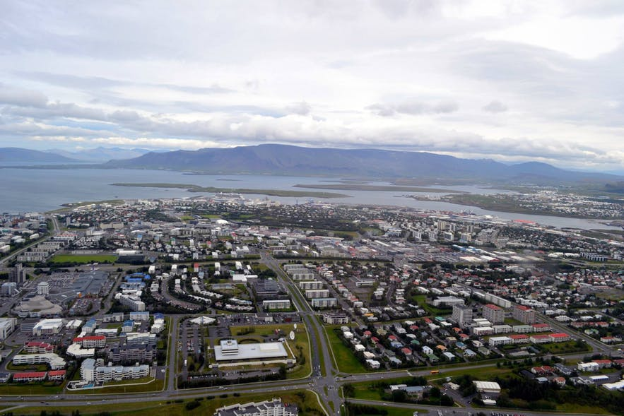 Helicopter tour over South Iceland