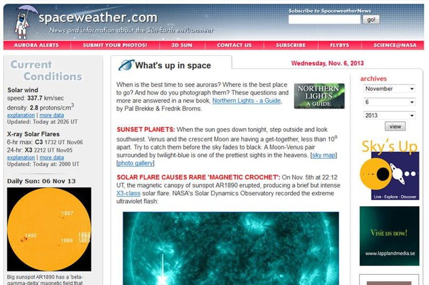 Northern Lights tip 3: How to Forecast an Aurora