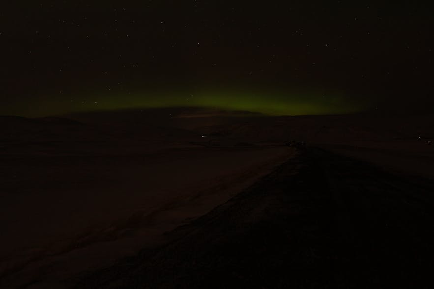 Northern Lights on a Freezing Night