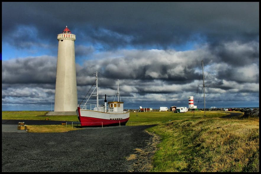Garðaskagi Lighthouse, photo by Petr Kraumann