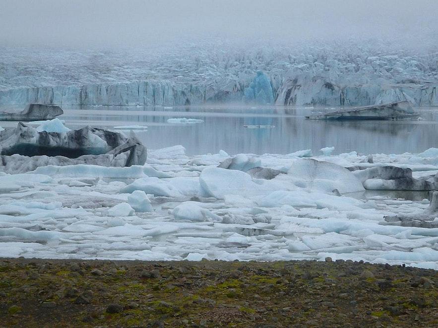 Fjallasárlón, photo by Brian W. Ogilvie