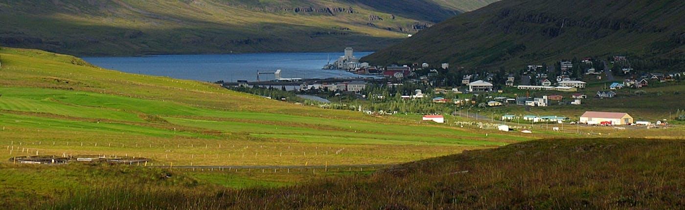 Seyðisfjörður, photo by Sandro Mancuso