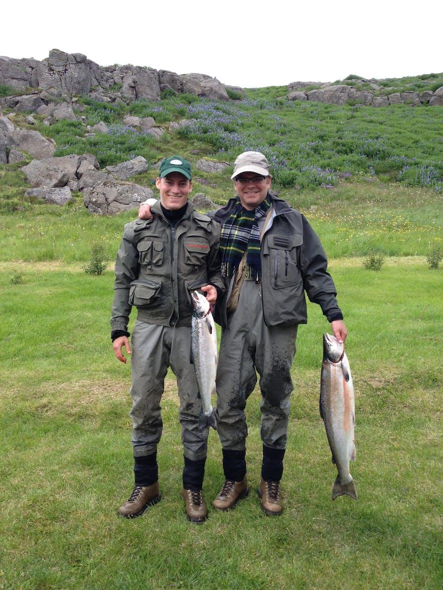 アイスランドの魚料理
