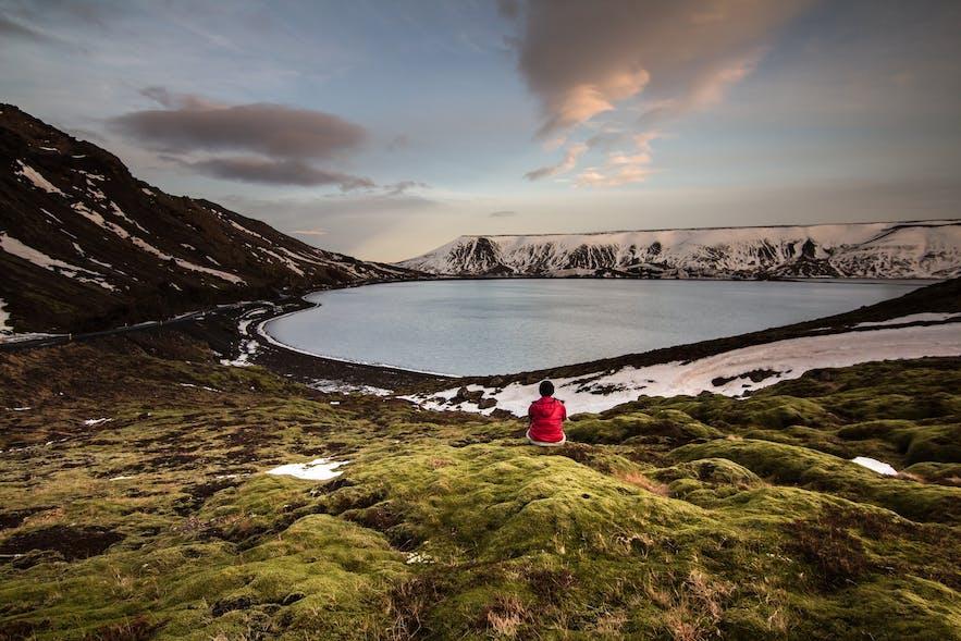 Kleifarvatn in Reykjanes