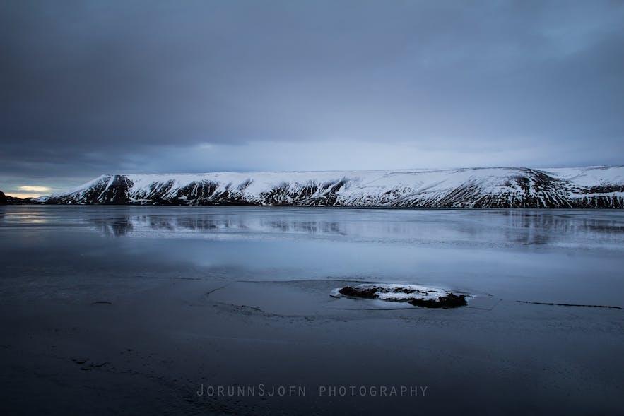 Kleifarvatn lake in Reykjanes