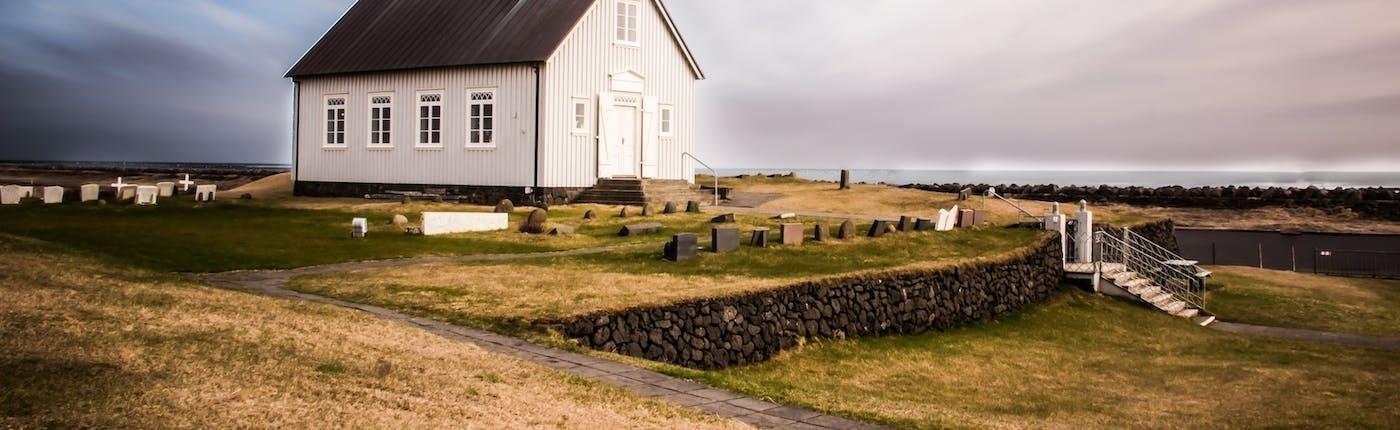 Strandarkirkja church in Reykjanes