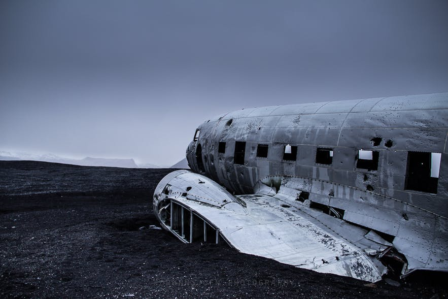 DC plane wreck in south Iceland
