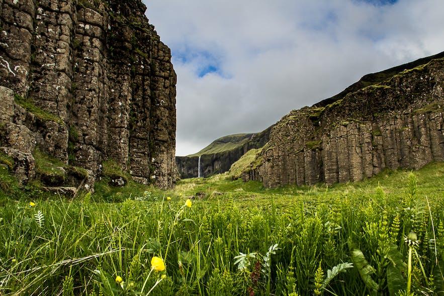 Dverghamrar in South Iceland