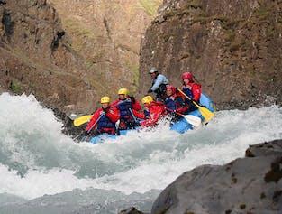 Spannende Rafting-Tour in Nordisland   ab 18 Jahren