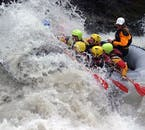 The rapids of the East Jökulsá River in North Iceland are tough but fun
