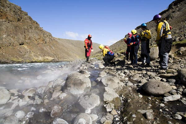 Rafting en famille dans le Nord de l'Islande