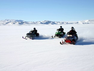 Golden Circle Tour with Glacier Snowmobiling