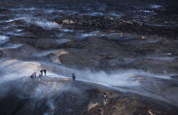 Excursion Thorsmork en Super Jeep & randonnée volcanique