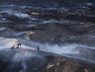 Jeeptour nach Þórsmörk & Wanderung zum Vulkan