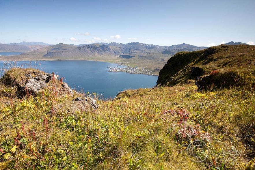 Grundarfjörður as seen from Kirkjufell