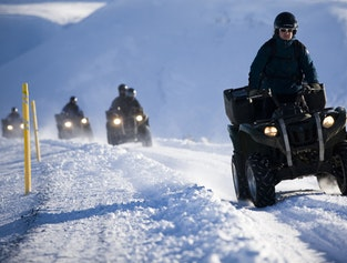 Horse Riding & Quad Biking Winter Trip