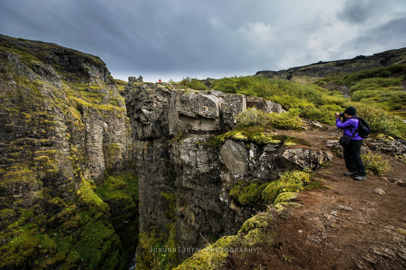 Hiking to Iceland's highest waterfall - Glymur