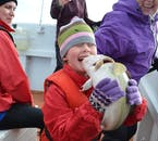 Chirldren of all ages are welcome onboard a sea angling trip from the Old Harbour of Iceland's capital Reykjavík.