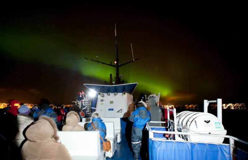 Northern Lights Boat Tour From Reykjavík