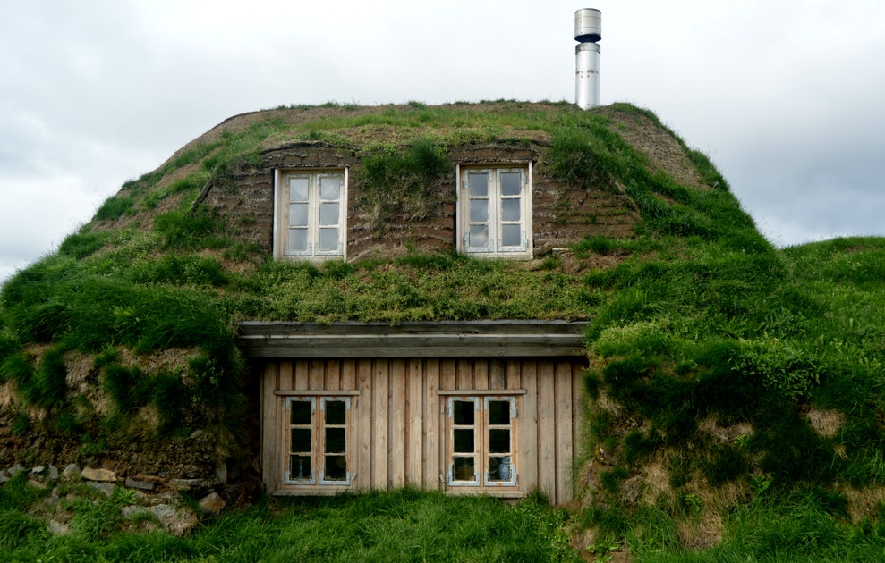 S nautasel turf house in the highlands of iceland guide for Houses for homes