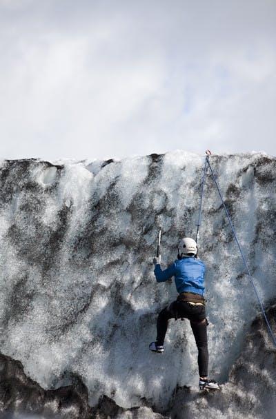 Small Group Glacier Hiking & Ice Climbing Tour on Solheimajokull Glacier