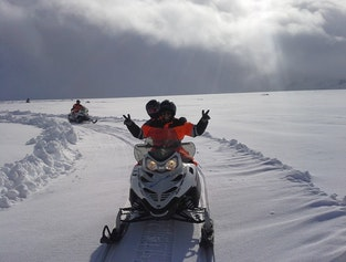 Golden Circle Jeep & Snowmobile Tour