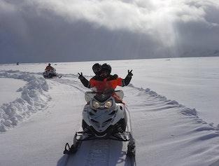 Golden Circle & Snowmobile Tour