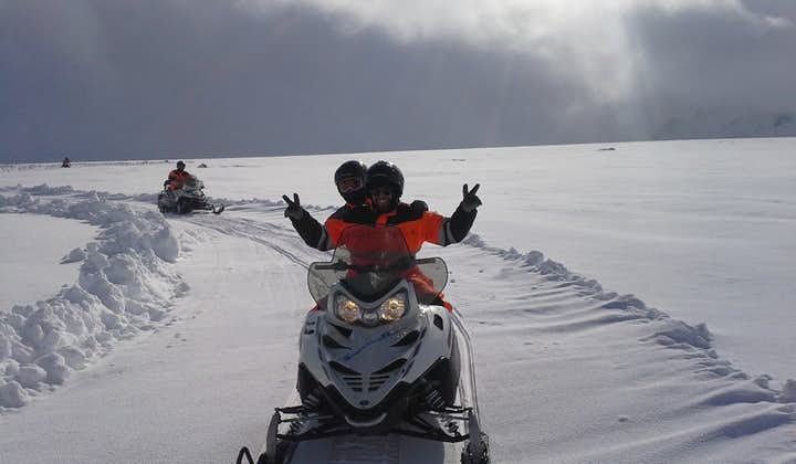 Snowmobiling on Langjökull is sure to be a highlight of your trip to Iceland.