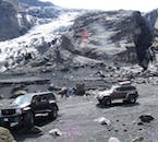 There will be plenty of time to stop your Super Jeep and appreciate the diverse landscapes of Eyjafjallajökull.