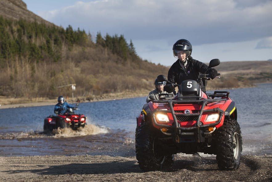 ATV riding is a fantastic, action-packed means of exploring Iceland.