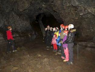 Visite guidée grotte Vatnshellir