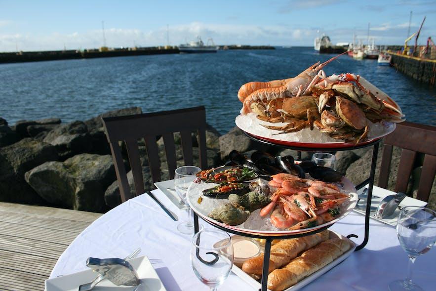 Enjoy the pride of Höfn's local cuisine, the tasty langoustine.