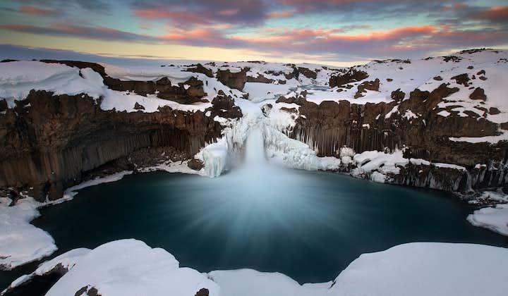 7-godzinna wycieczka off-road do wodospadów północnej Islandii, łącznie z Aldeyjarfoss i transferem z Akureyri