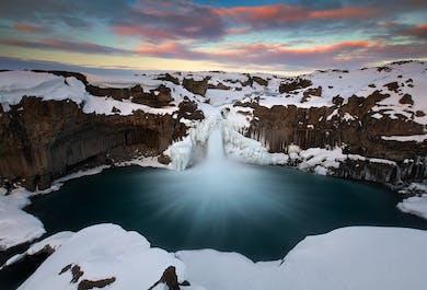 Aldeyjarfoss   Wycieczka do wodospadów na północy Islandii
