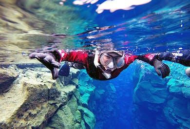 Snorkeling w szczelinie Silfra   Darmowe zdjęcia