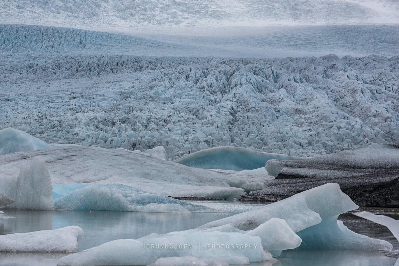 Vatnajokull glacier in Vatnajokull National Park