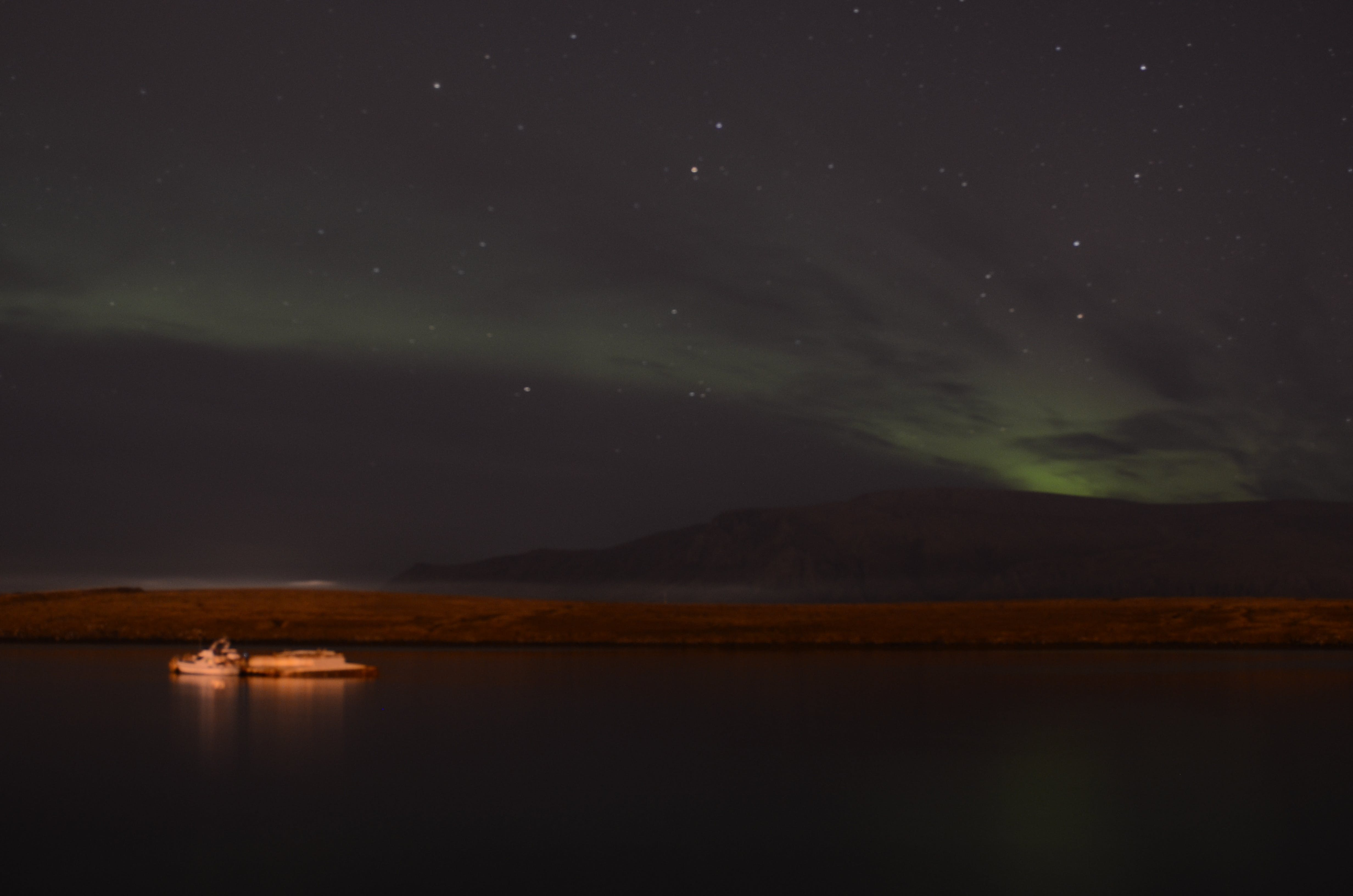 Northern Lights Cruise in Faxafloi Bay from Reykjavik