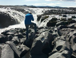 Askja caldera, highlands