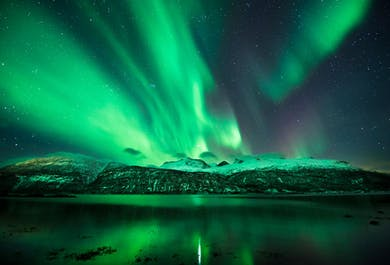 Northern Lights Camping Tour on Mount Esja
