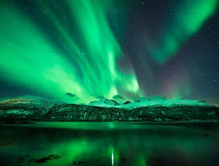 Northern Lights Mountain Camping Tour