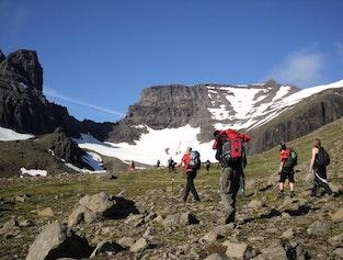 Dyrfjöll hiking tour