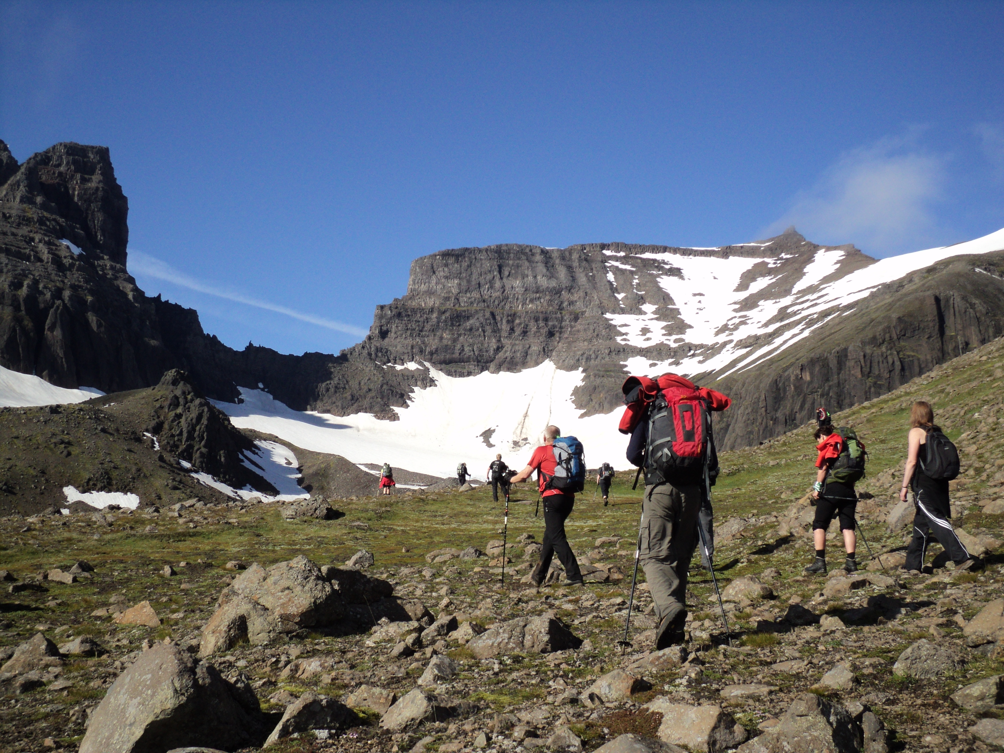 Scenic 11 Hour Hiking Tour of Mt Dyrfjoll with Transfer from Egilsstadir