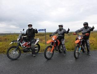 Golden Circle Motorcycle Tour