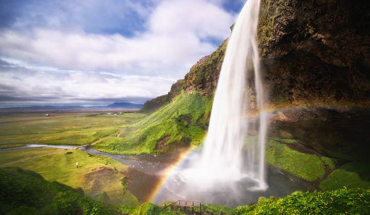Seljalandsfoss is a gorgeous, narrow waterfall located on Iceland's diverse South Coast.