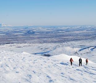Randonnée au Mont Snaefell   Sommet de l'Est de l'Islande