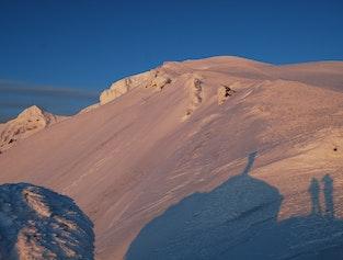 Mt. Snæfell hiking Midnight tour