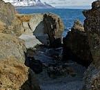 The Streiti coast is full of beautiful rock formations.